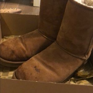 UGG Shoes - Uggs chestnut size 8 classic short style